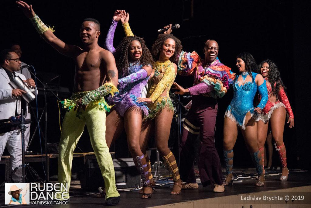 ruben-dance salsa night show