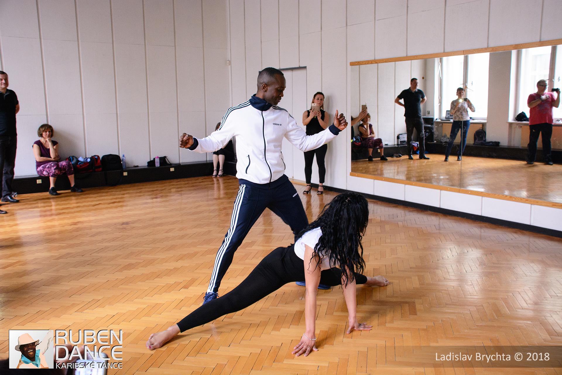 reggaeton ruben dance Caribbean dance courses prague