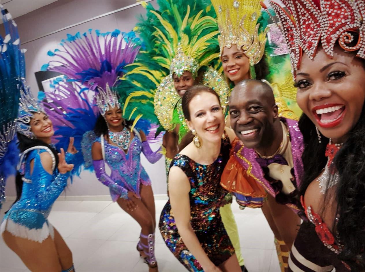 ruben-dance shou latinsko amerických rytmů